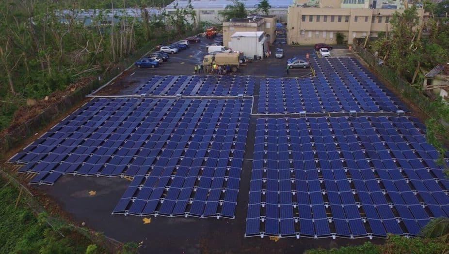 La instalación solar del hospital ya está lista