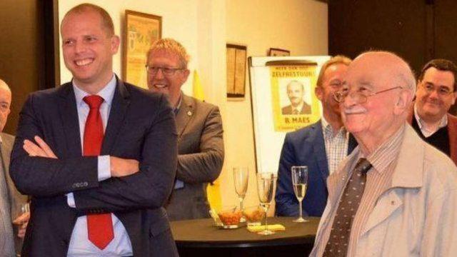 Theo Francken con el nazista Bob Maes
