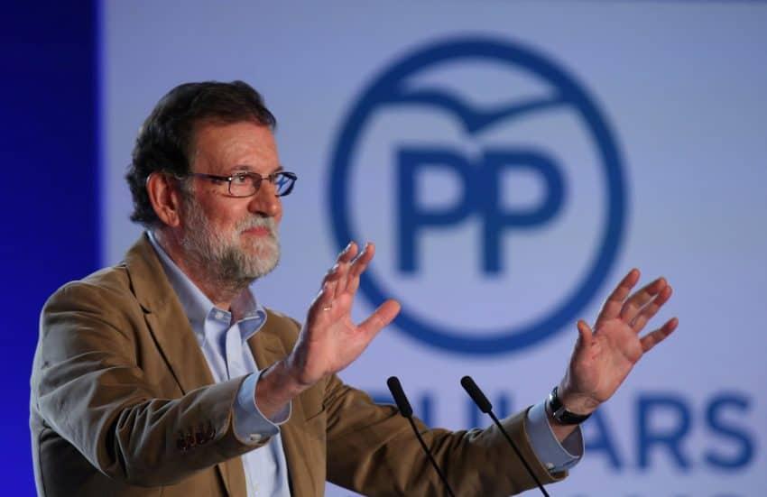 """Elecciones catalanas. Rajoy pide en Barcelona que la mayoría silenciosa """"convierta su voz en voto"""""""