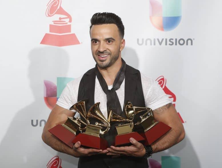 Grammy Latino. Luis Fonsi y 'Despacito' arrasan en los Grammy Latino