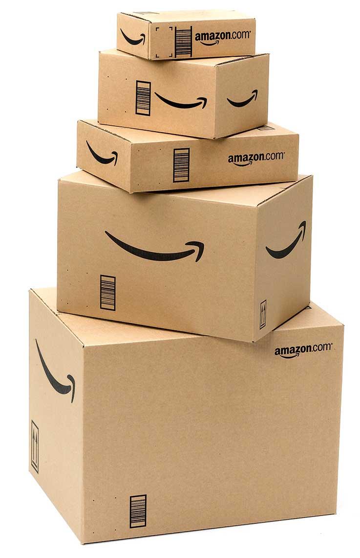 Cajas de Amazon de Jeff Bezos
