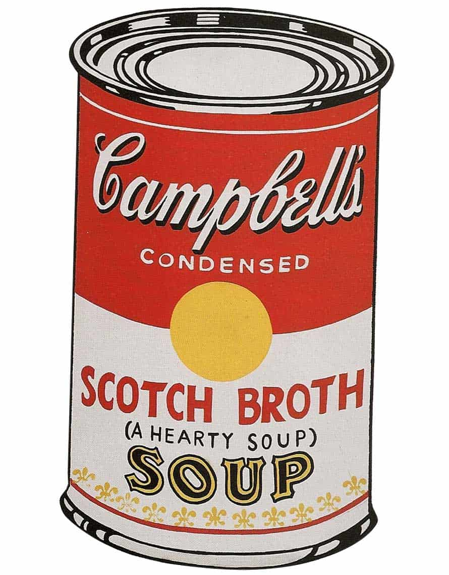 Lata Campbells Andy Warhol