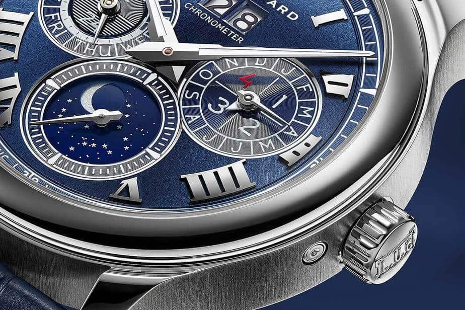Reloj azul Chopard