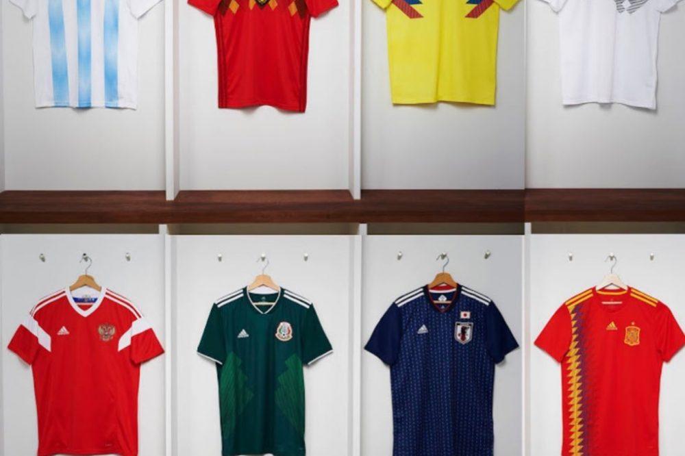 Misterioso Religioso prisión  Adidas reveló las nuevas equipaciones para el Mundial de Rusia - Cambio16