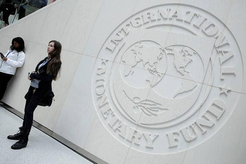 Imagen de la sede del FMI.