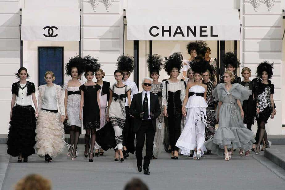Karl Lagerfeld al frente de la casa Chanel