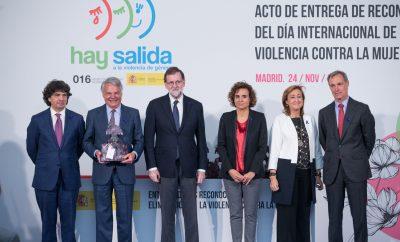 Premiada la campaña Tolerancia Cero contra la violencia de género