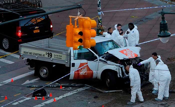 Atentado terrorista en Manhattan, Nueva York