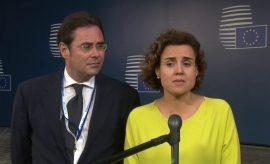 """La ministra Dolors Montserrat defendió la candidatura de Barcelona como """"la más completa"""""""