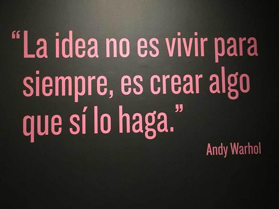 frase Andy Warhol