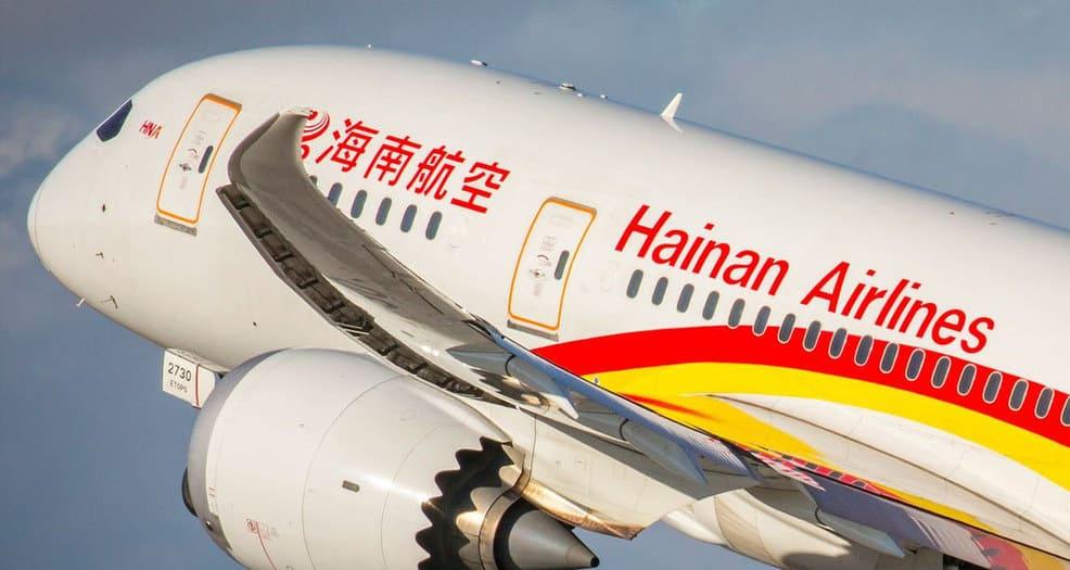 Hainan Airlines es la pionera en experimentar con aceite de cocina