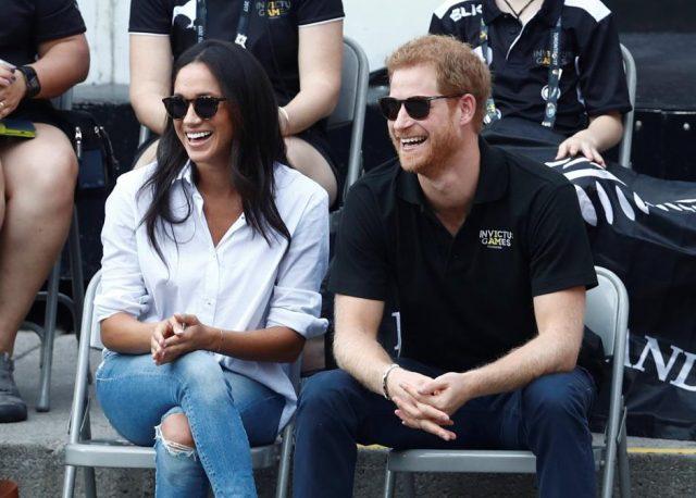 El príncipe Harry y su novia, la actriz británica Meghan Markle (Reuters)