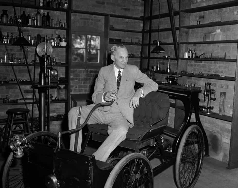 Henry Ford primer auto