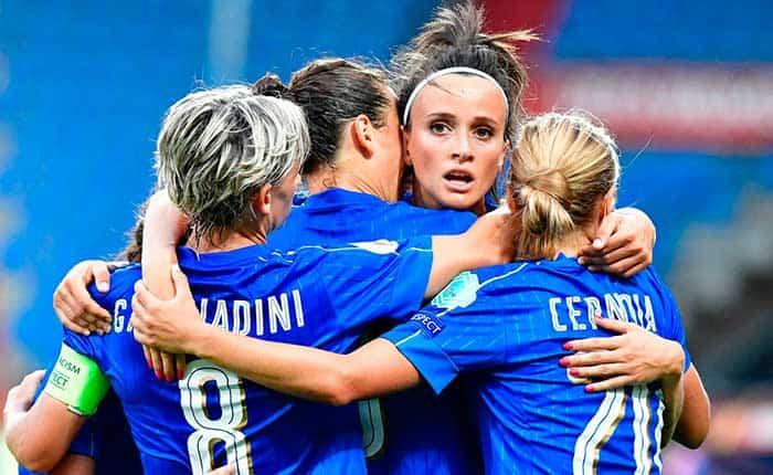 La selección femenina de Italia se mantiene invicta