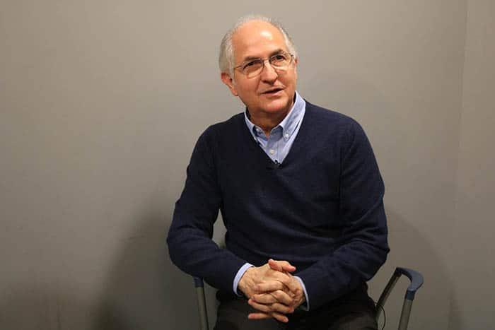 Entrevista a Antonio Ledezma.