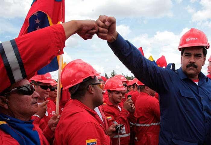 Maduro incorporará más militares en puestos de mando de la estatal PDVSA