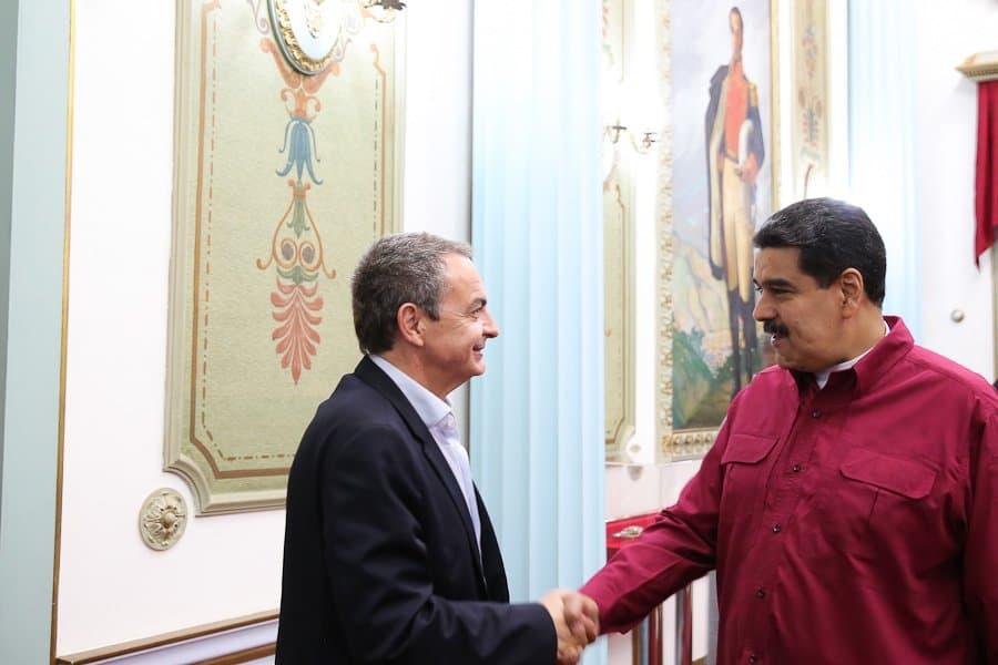 """Zapatero, el acompañante """"non grato"""" de las elecciones de Maduro"""