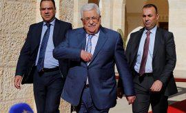 El presidente de Palestina, Mahmud Abbas.