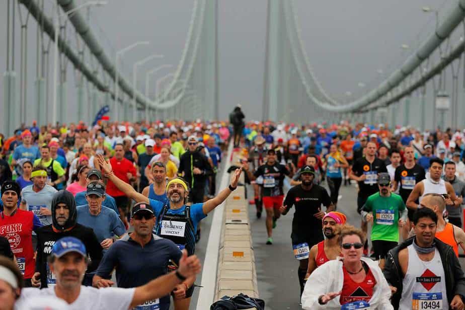 Maratón de Nueva York 2017. Reuters