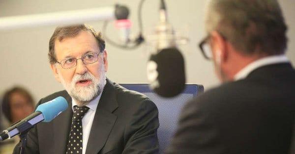 Mariano Rajoy conversó con Carlos Herrera en la COPE