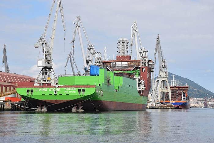 Barco de La Naval.
