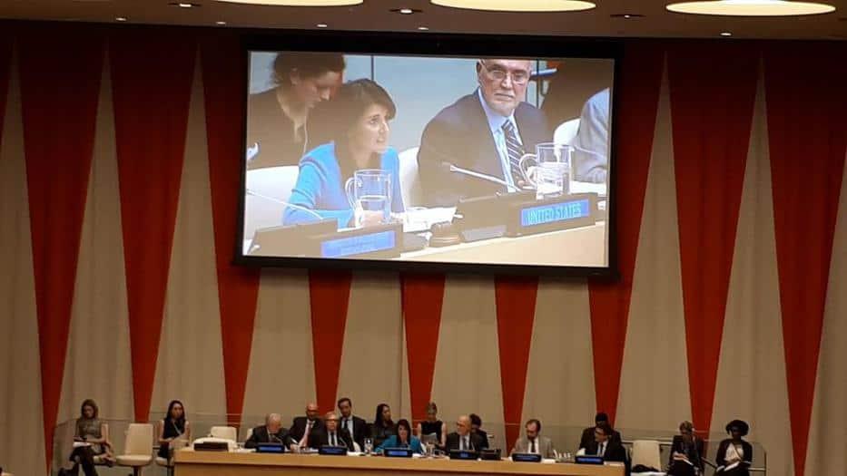 EEUU vetó resolución de la ONU de retirar decisión de Trump sobre Jerusalén