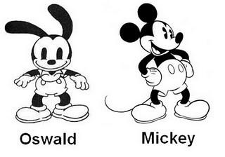 Oswaldo y Mickey