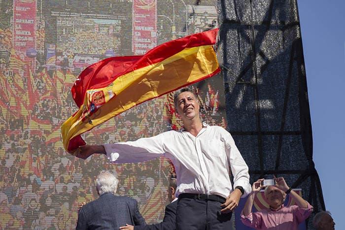El líder del PP catalán Xavier García-Albiol.