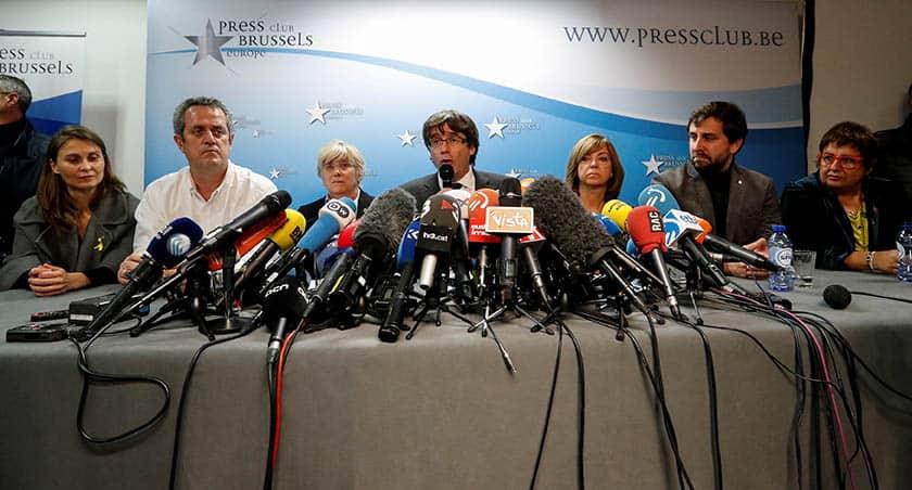 Puigdemont declarará antes que arranque formalmente la campaña electoral en Cataluña.