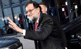 Rajoy en la cumbre de Gotemburgo.
