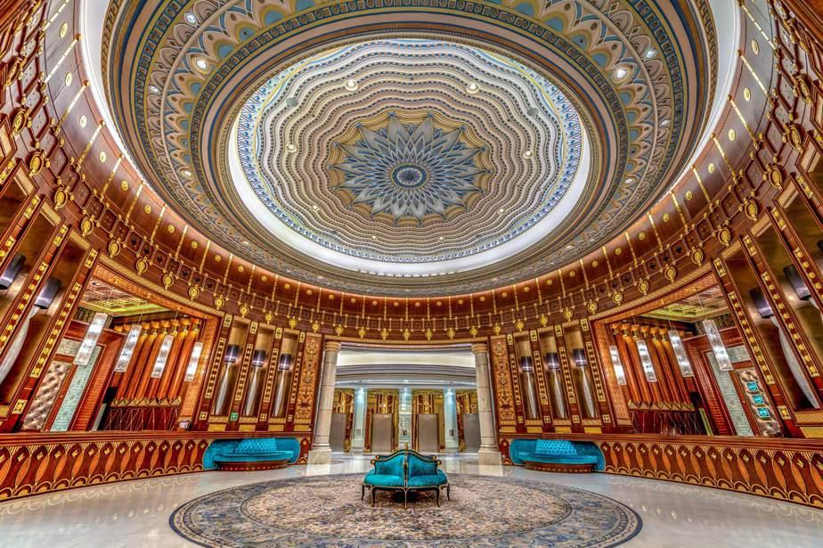 Lobby del Ritz-Carlton Riyadh