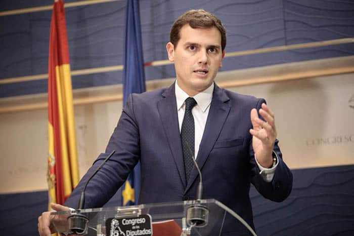 Ciudadanos insta al Gobierno a enfrentar el relato secesionista de Torra