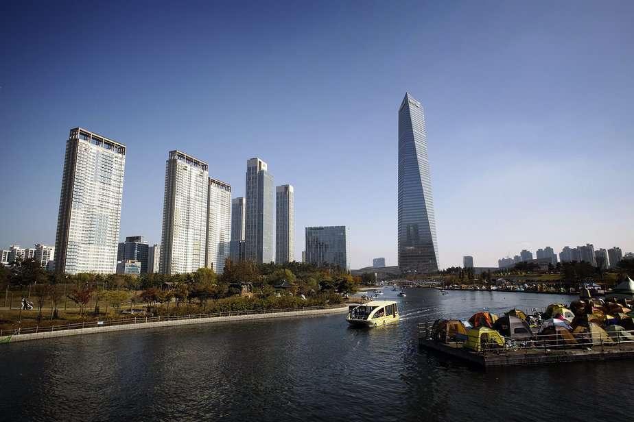 """Songdo, en Corea del Sur, es la llamada """"ciudad del futuro"""", basada en toda una estructura ecoamigable"""