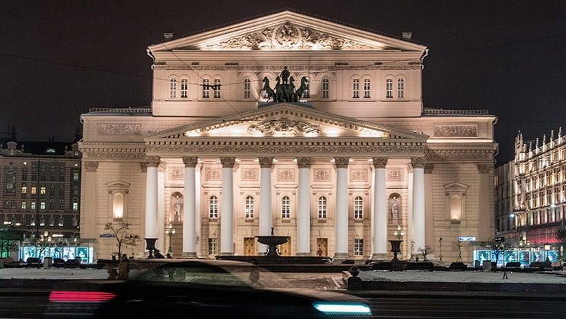 Teatro Bolshoi Moscú