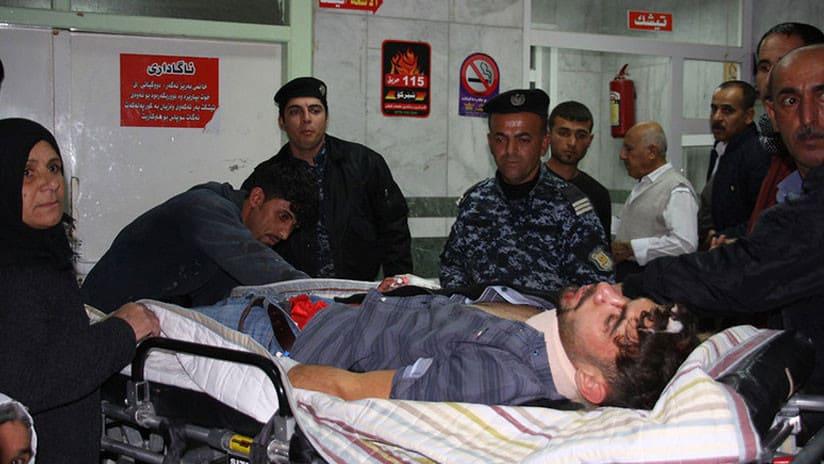 Más de 140 muertos y 1.000 heridos tras un sismo de 7,2 entre Irán e Irak