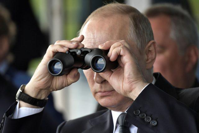 Putin va a la reelección con su popularidad a tope