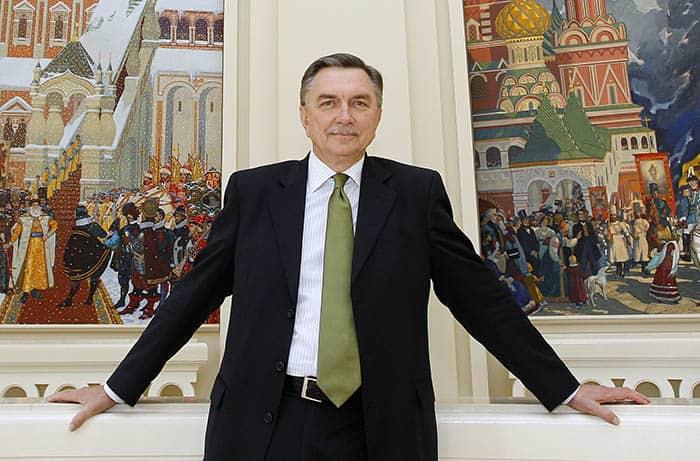 El embajador ruso en España, Yuri Korchagin, habla sobre Putin.