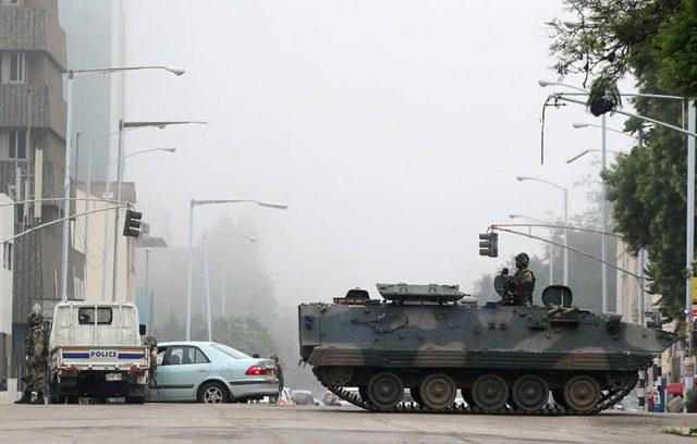 Los militares se han hecho con el control de Zimbabue.