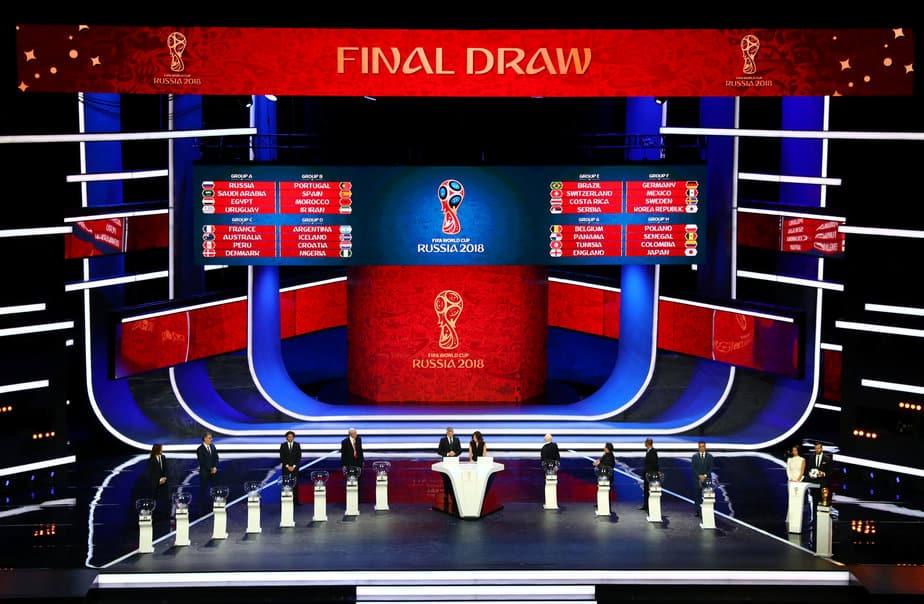 El sorteo del Mundial de Rusia tuvo lugar en el Palacio Estatal del Kremlin en Moscú