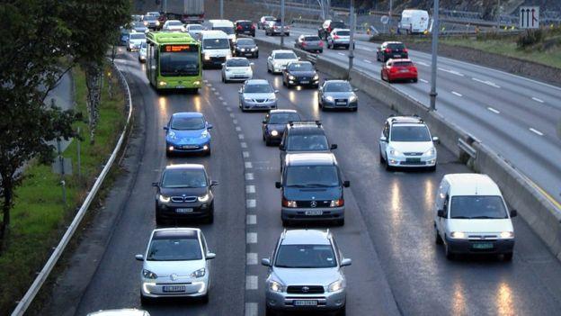 El país con más coches eléctricos rodando es Noruega