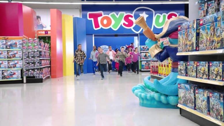 Diferencia de precios. Amazon sigue por delante de Toys'R'Us con los juguetes más baratos