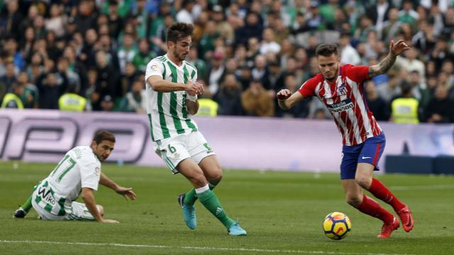 Atlético de Madrid le gana al Betis por la mínima