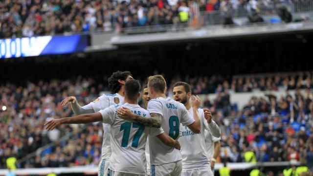 El Real Madrid aplastó al Sevilla en el Bernabéu
