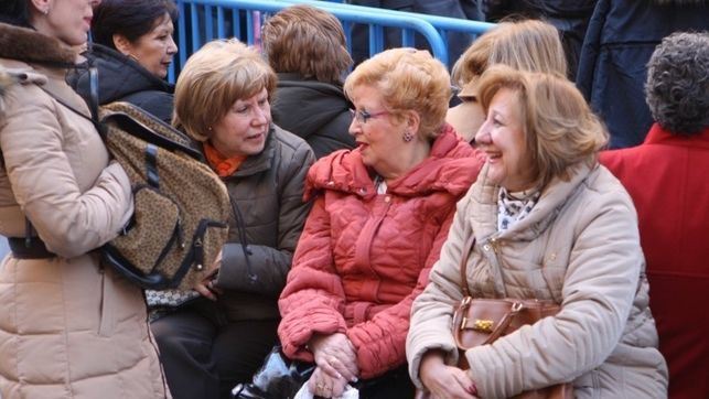 Pensión media de jubilación. La brecha en las pensiones entre hombres y mujeres es de 450 euros