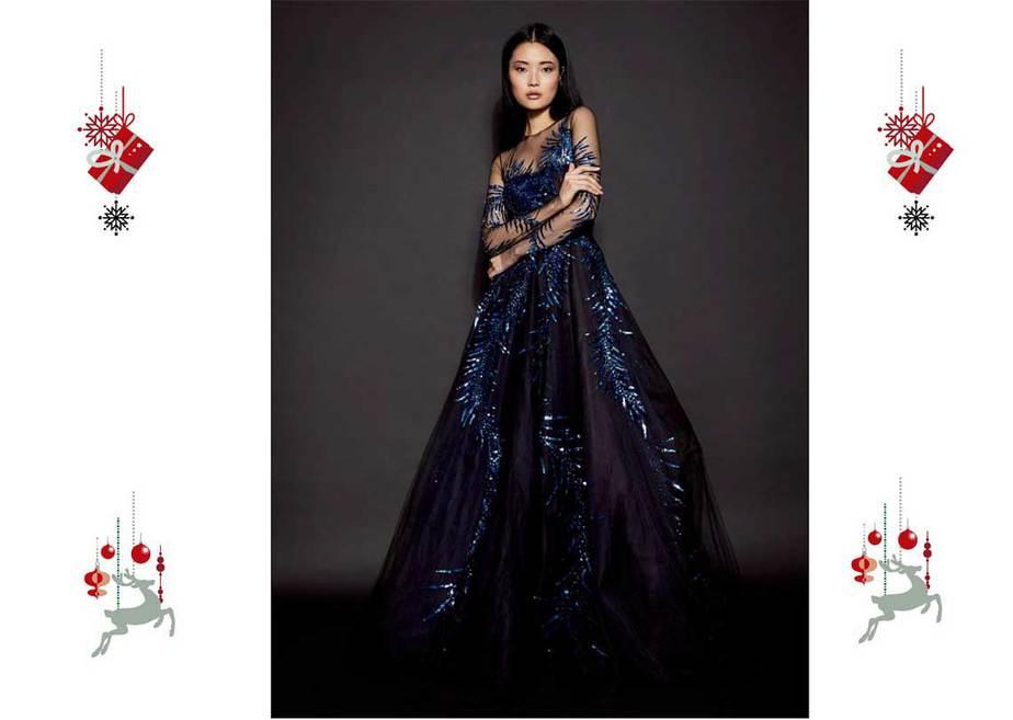 12649d4c99 Los vestidos de fiesta para lucir en las celebraciones navideñas