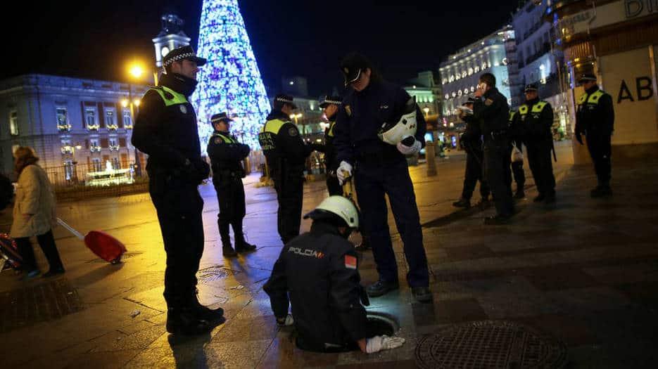 Madrid se blinda en las próximas horas para recibir el Año Nuevo