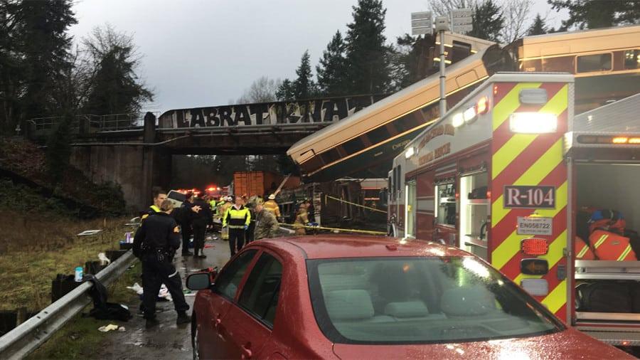 Accidente de tren en EEUU obliga a un nuevo estado de emergencia