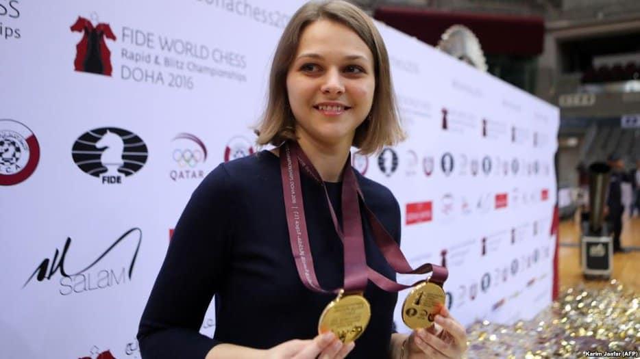 Anna Muzychuk, la gran maestra ucraniana de ajedrez