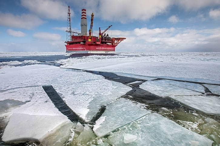 Imagen del Ártico.