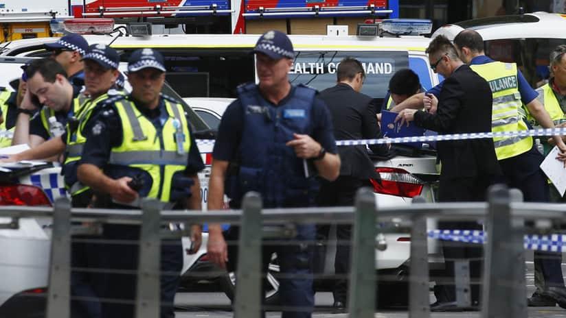 """Policía dice """"no hay evidencia"""" de acto terrorista en atropello en Melbourne"""